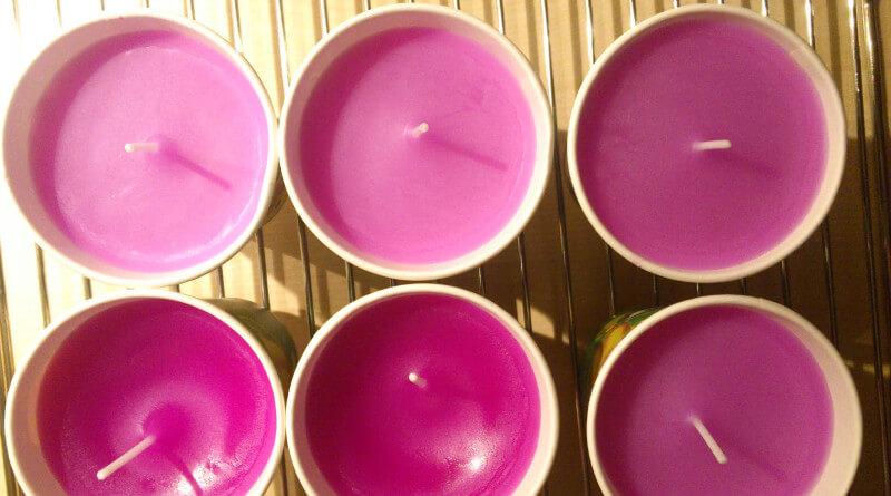 Výroba domácích svíček