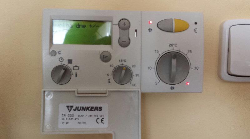 Regulace vytápění